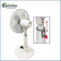 Calinfor new arrival 14 inch height ajustment table & stand fan