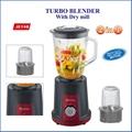 Calinfor black & red multifunctional blender