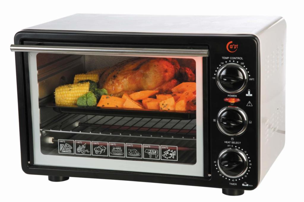 Electric Oven with Top Tray 2