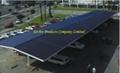 Solar Structural Carpark Shelter