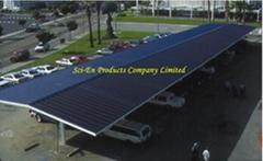 太阳能结构式停车场上盖