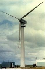 1,000 KW 风力涡轮发电