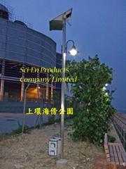 太陽能發電系統-太陽能街燈