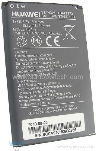 Huawei E585, E586, E5830 Mifi Router Battery HB4F1  1
