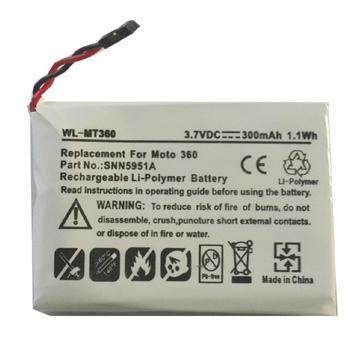 摩托罗拉Moto 360智能手表电池WX30, SNN5951A 1