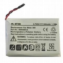 Motorola Moto 360 Smart Watch Battery WX30, SNN5951A