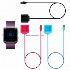 Fitbit Blaze充電器 數據線