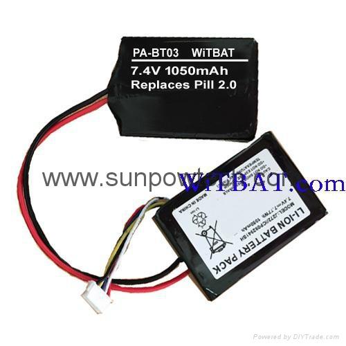 Beats Pill 2.0 Bluetooth Speaker Battery HYB2725221547 PA-BT03 1