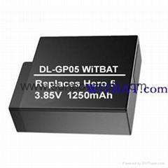 GoPro Hero 5運動相機電池AHDBT-501