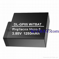 GoPro Hero 5 Sport Camera Battery AHDBT-501 DL-GP05