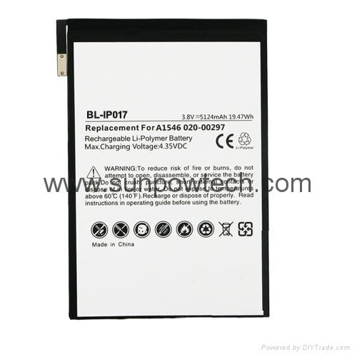 Apple Ipad Mini 4 A1546 Battery 020 00297 Bl Ip017 Witbat China