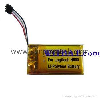 Logitech H600 Headset Battery  AHB521630 1