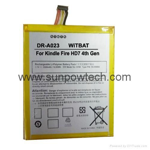 Kindle Fire HD7 4th Generation SQ46CW Battery 58-000084, MC