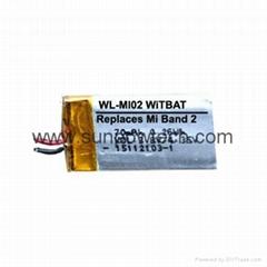 小米二代手环电池 PL331223V