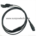 Plantronics Qd To Dual 3 5mm Cable For Plantronics H Amp Hw