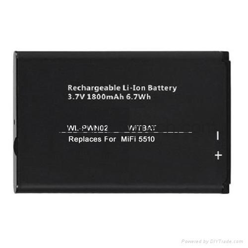 Novatel MiFi 5510 wireless router battery 40115126-001 1