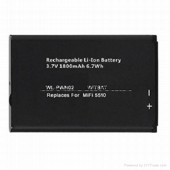 Novatel MiFi 5510 wireless router battery 40115126-001