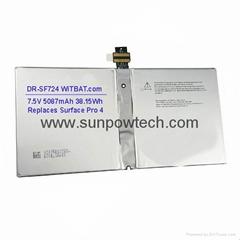 """Microsoft Surface Pro 4 12.3"""" Battery"""