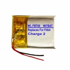 Fitbit Charge 2智能手表电池LSSP411415
