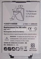 XM Radio 電池  Delphi TXM1000