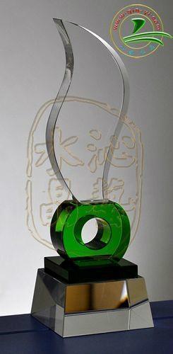 水晶獎杯 2
