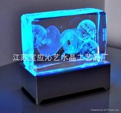 供应水晶内雕产品