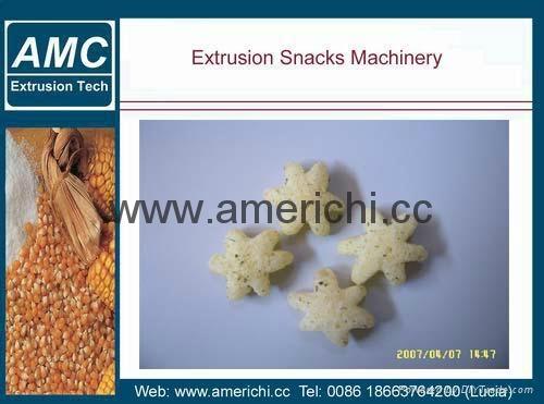 休閑小食品膨化機生產設備 11