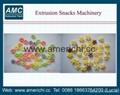 休闲小食品膨化机生产设备 12