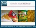 Corn puffs snacks machines