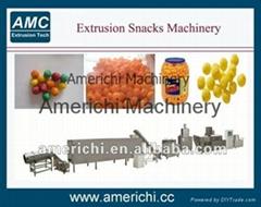 Extruded snack machine