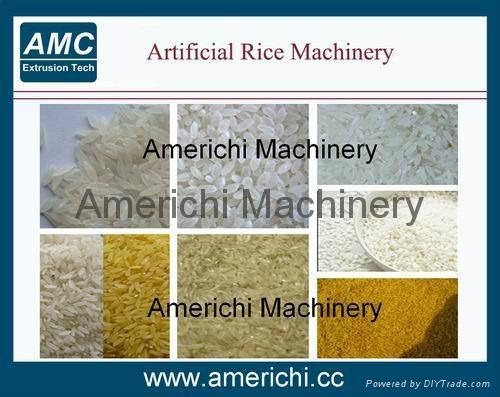 双螺杆营养大米生产线 1