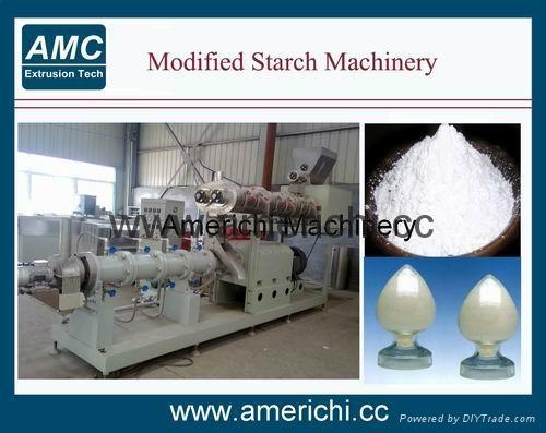 Pregelatinized modified Starch Machinery 6