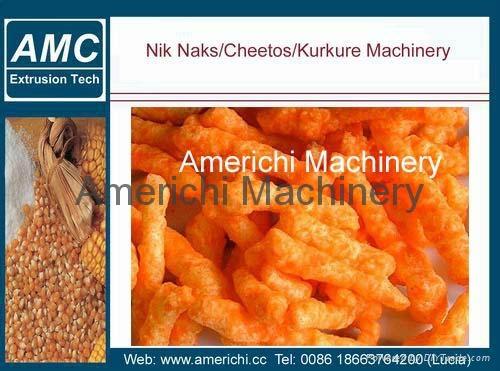 Cheese curls machine