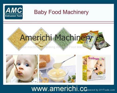 膨化营养粉、早餐粥生产设备  1