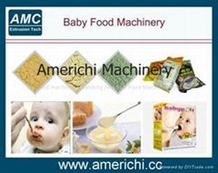 膨化营养粉、早餐粥生产设备