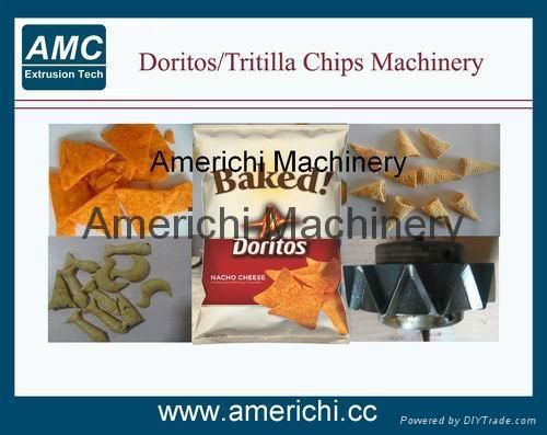 Corn Chips Machines