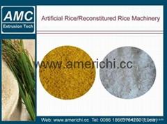 人造米生產線