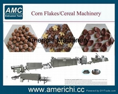 Breakfast cereal corn flakes machinery