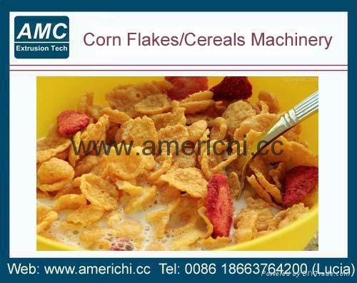 玉米片早餐谷物生产线设备