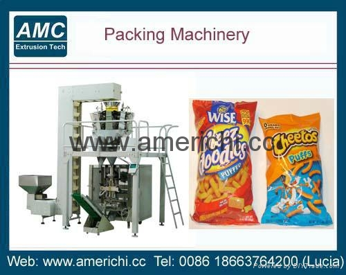 Vertical Packaging Machine With Combination Weigher