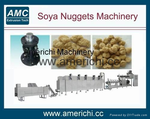 Soya Nuggets Machinery