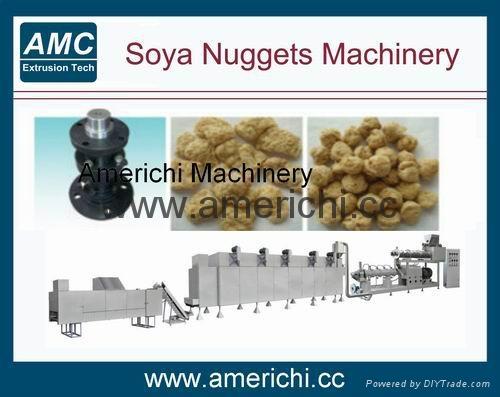 Soya Nuggets Machinery