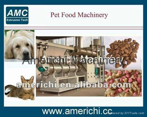 Pet dog food machine