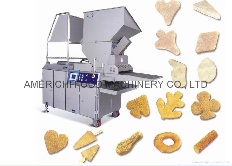 全自动肉饼成型机 1