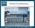 Catfish feed machines