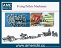 Frying pellets processing line