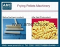 Frying pellet machine