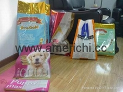 packing bags for dog food