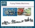 Frying pellets snacks machines