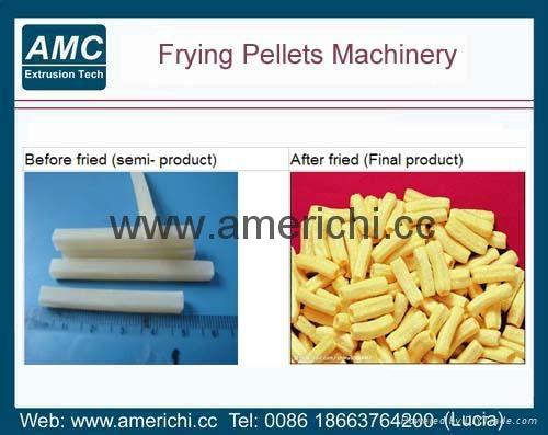 油炸面食膨化食品生产线  2